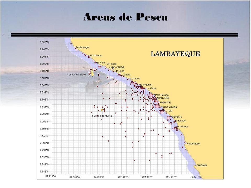Areas de Pesca