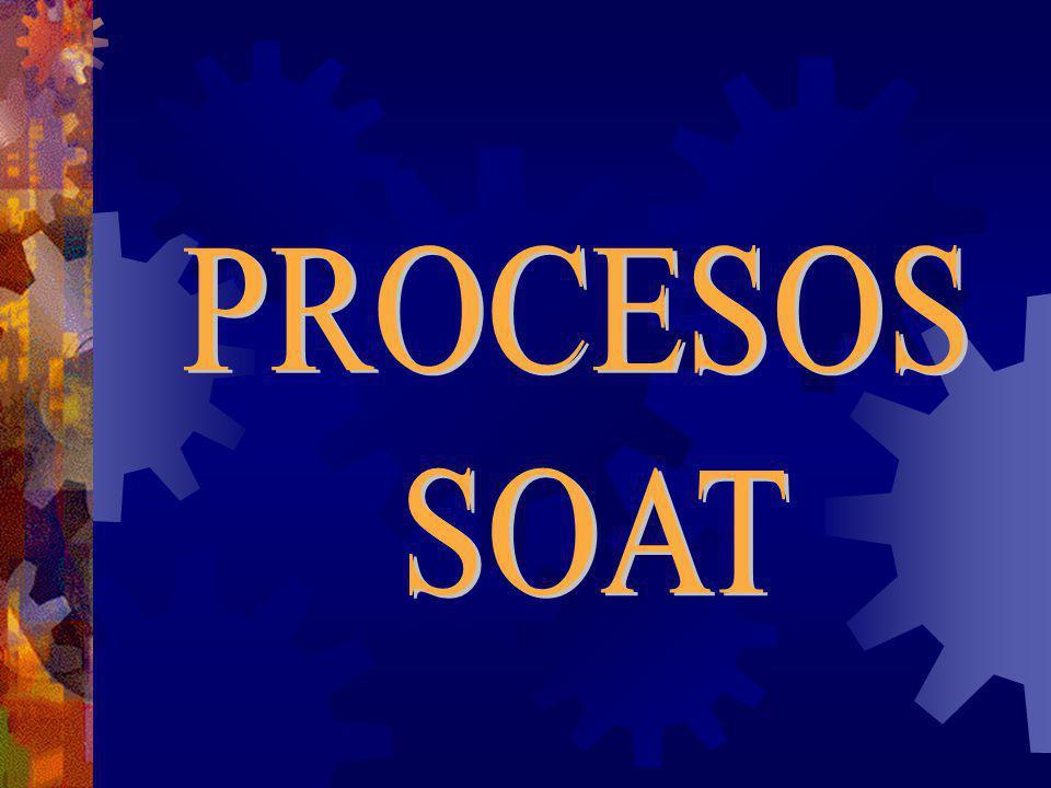 PROCESOS SOAT