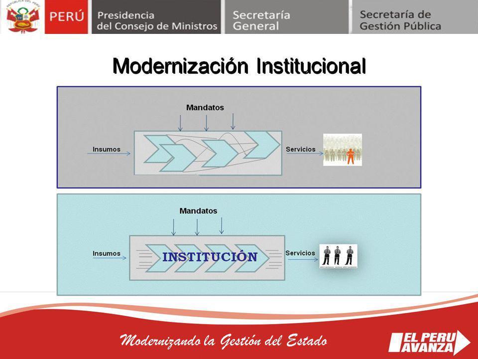 Modernizando la Gestión del Estado