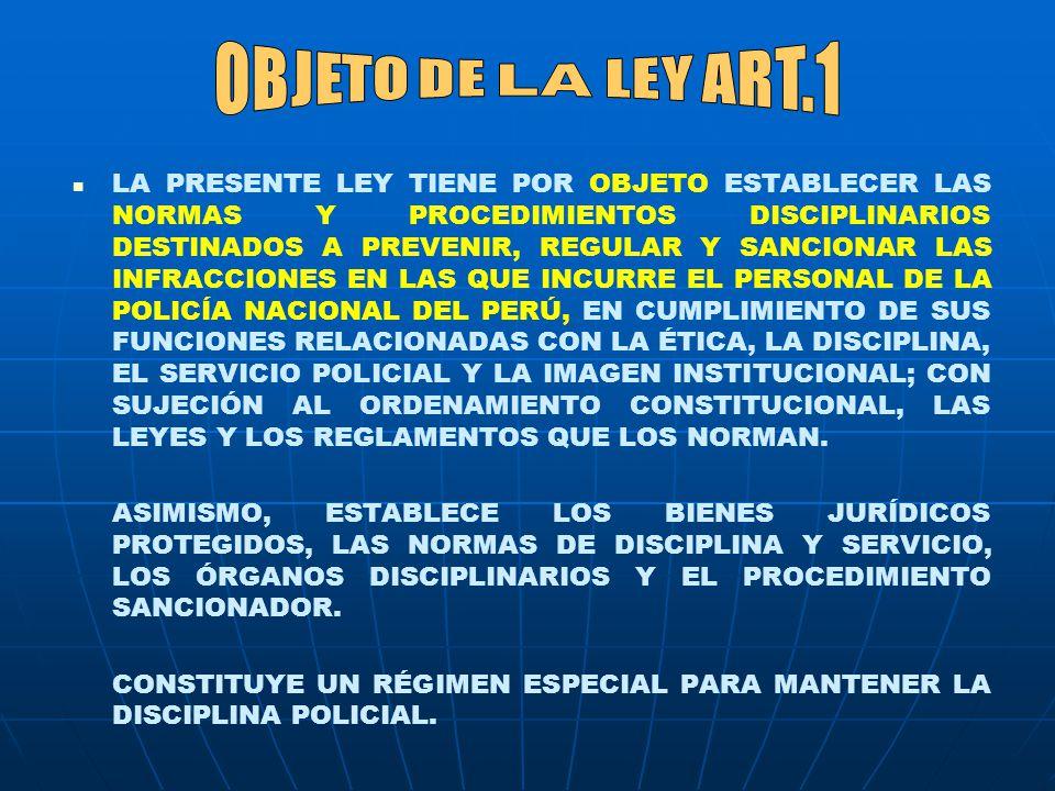 OBJETO DE LA LEY ART.1