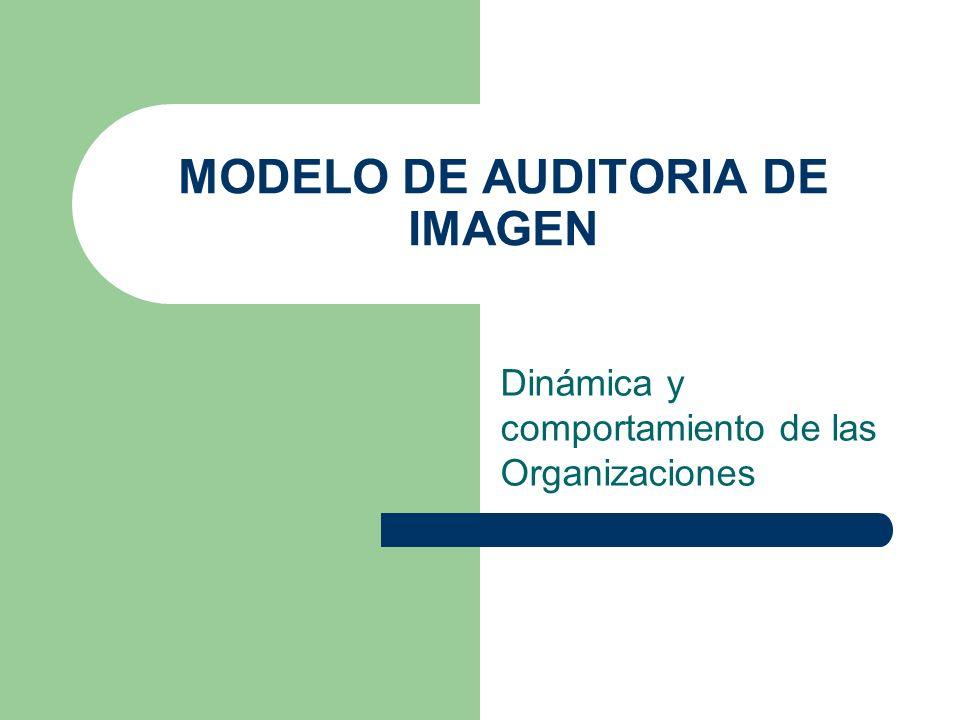 MODELO DE AUDITORIA DE IMAGEN