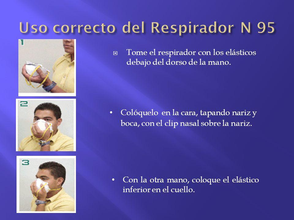 Uso correcto del Respirador N 95