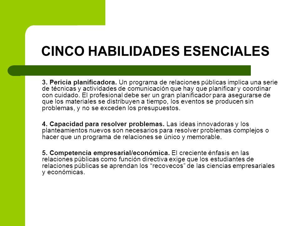 CINCO HABILIDADES ESENCIALES