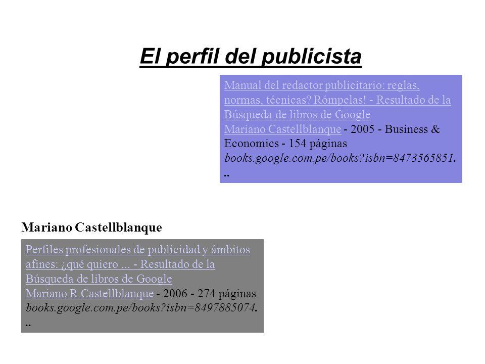 El perfil del publicista Mariano Castellblanque