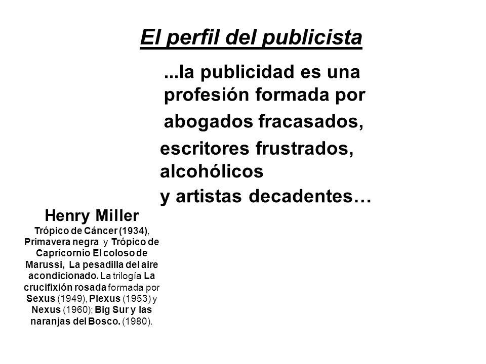 El perfil del publicista