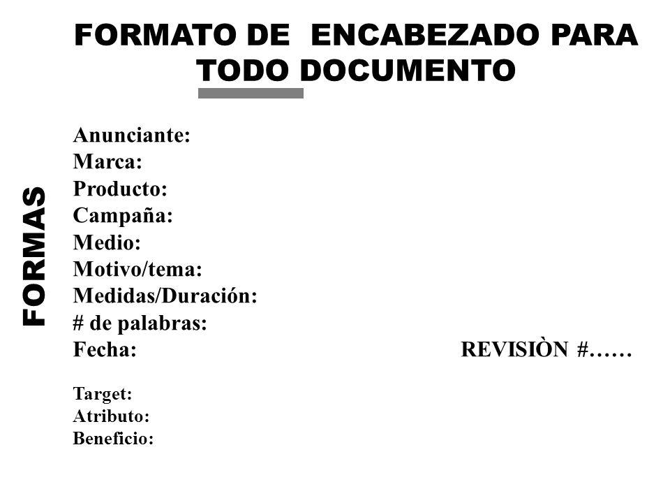 FORMATO DE ENCABEZADO PARA TODO DOCUMENTO