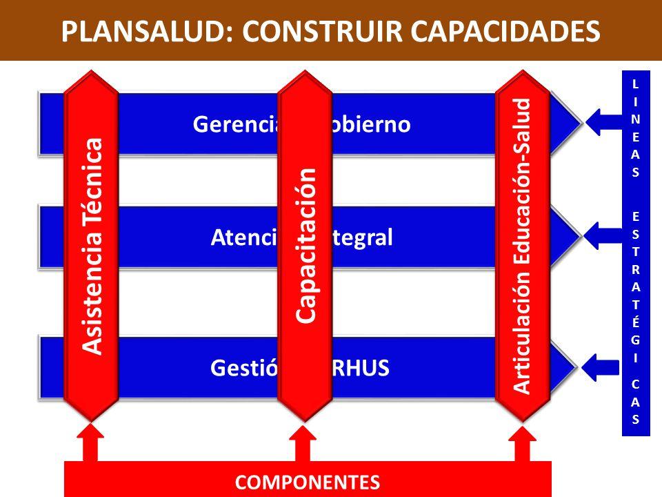 PLANSALUD: CONSTRUIR CAPACIDADES
