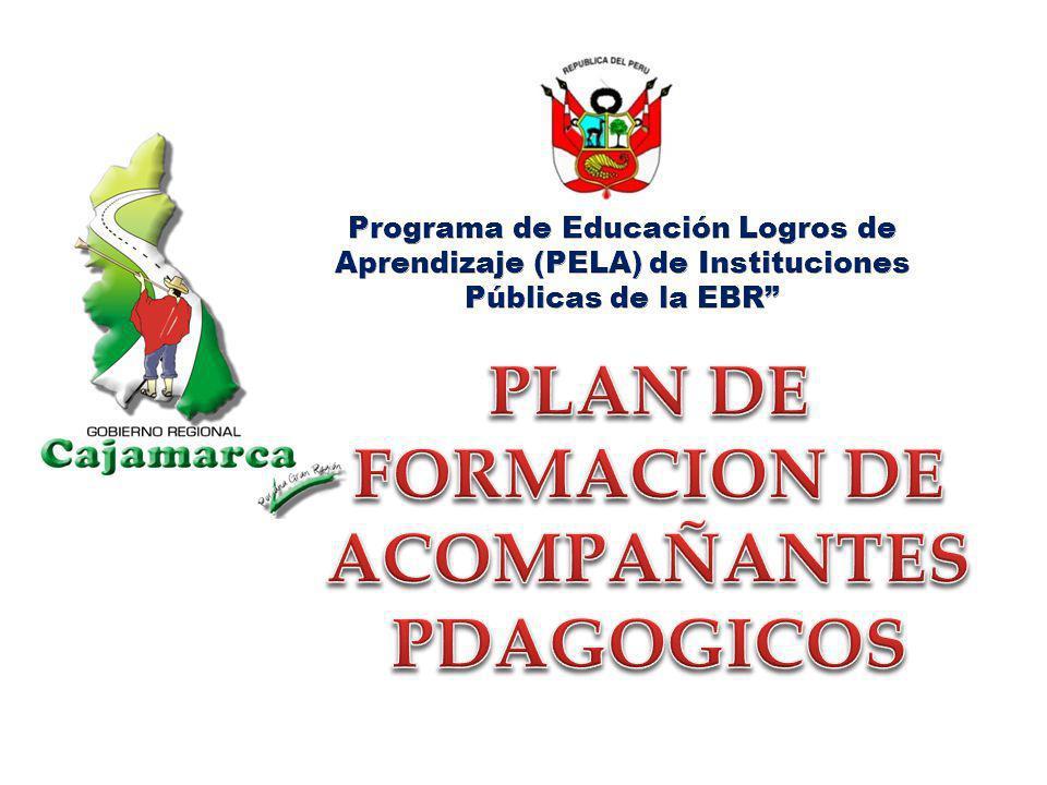 PLAN DE FORMACION DE ACOMPAÑANTES PDAGOGICOS
