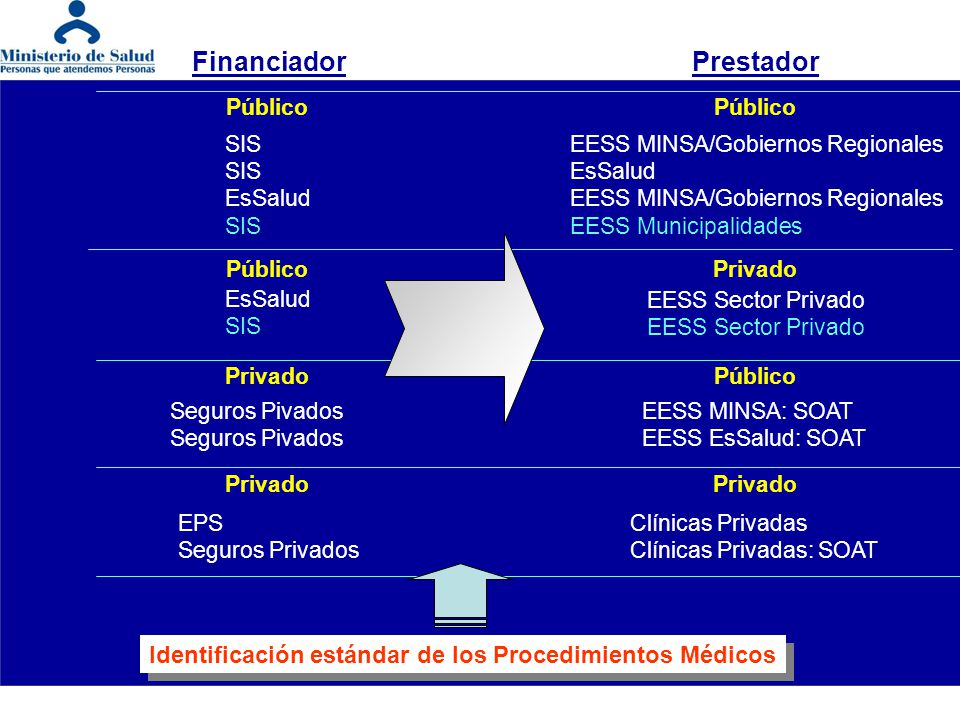 Financiador Prestador