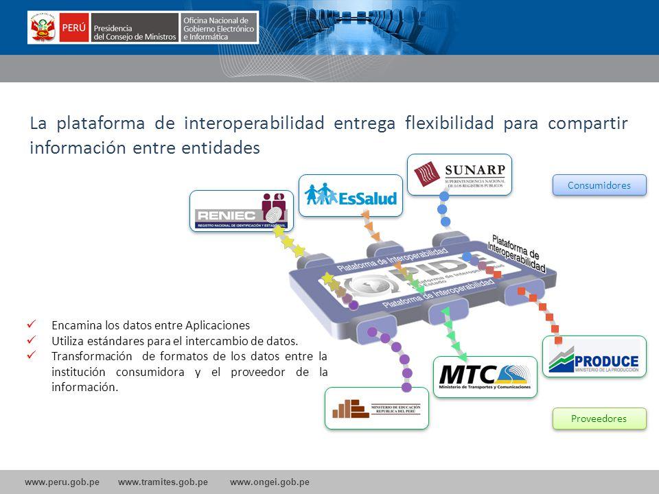 La plataforma de interoperabilidad entrega flexibilidad para compartir información entre entidades