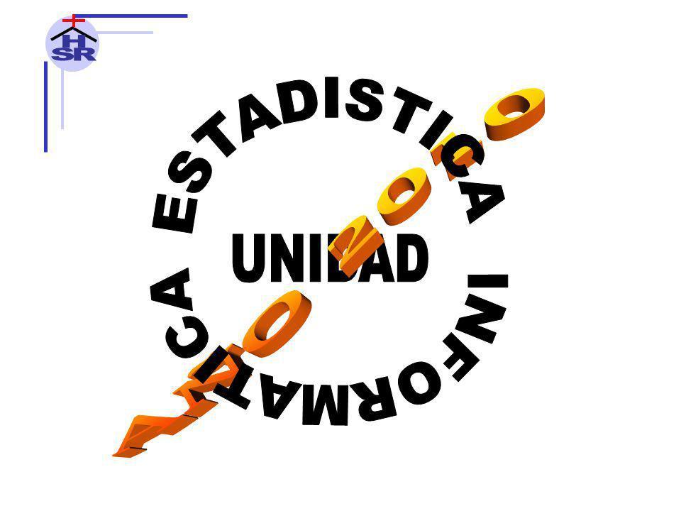 H S R INFORMATICA ESTADISTICA AÑO 2010 UNIDAD