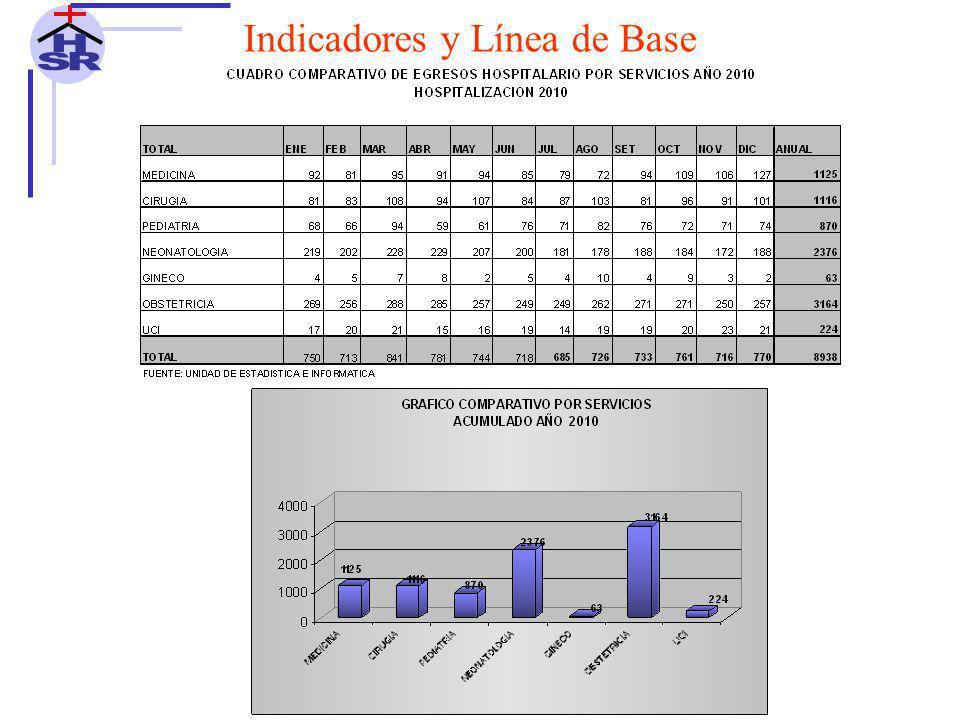 H S R Indicadores y Línea de Base