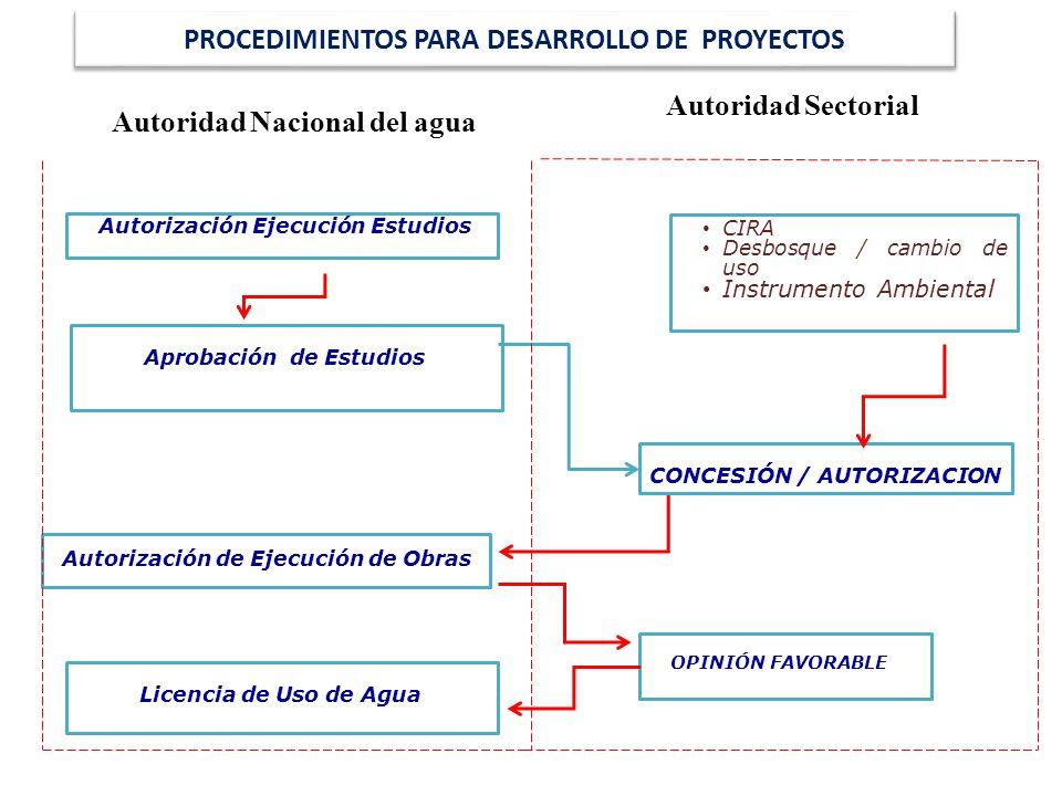 PROCEDIMIENTOS PARA DESARROLLO DE PROYECTOS