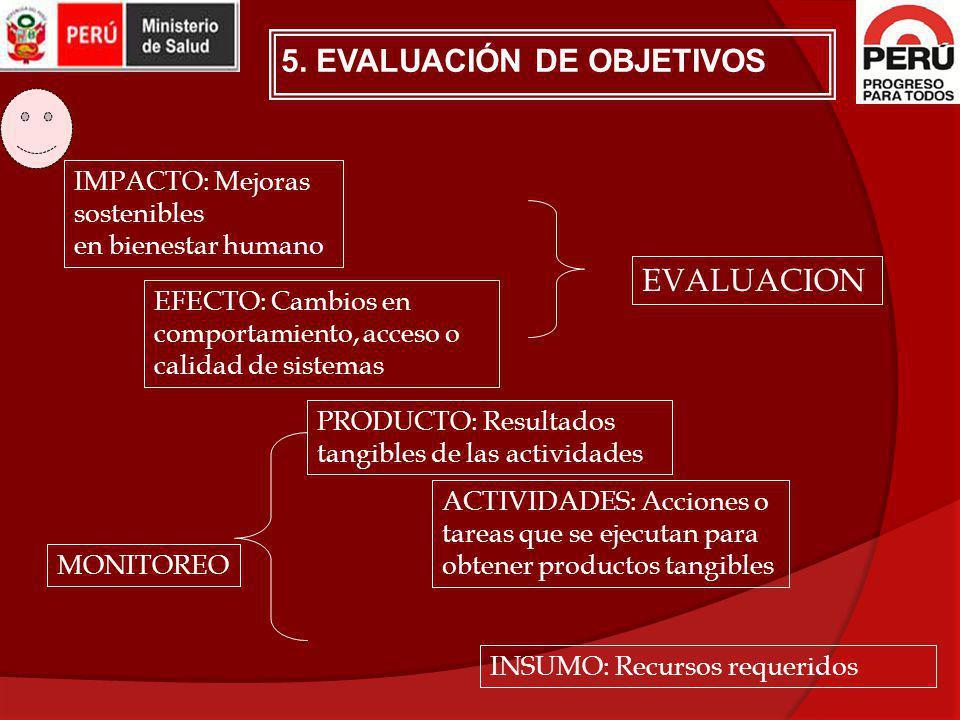 5. EVALUACIÓN DE OBJETIVOS