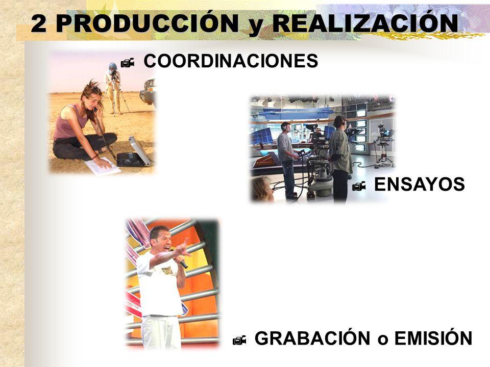 2 PRODUCCIÓN y REALIZACIÓN