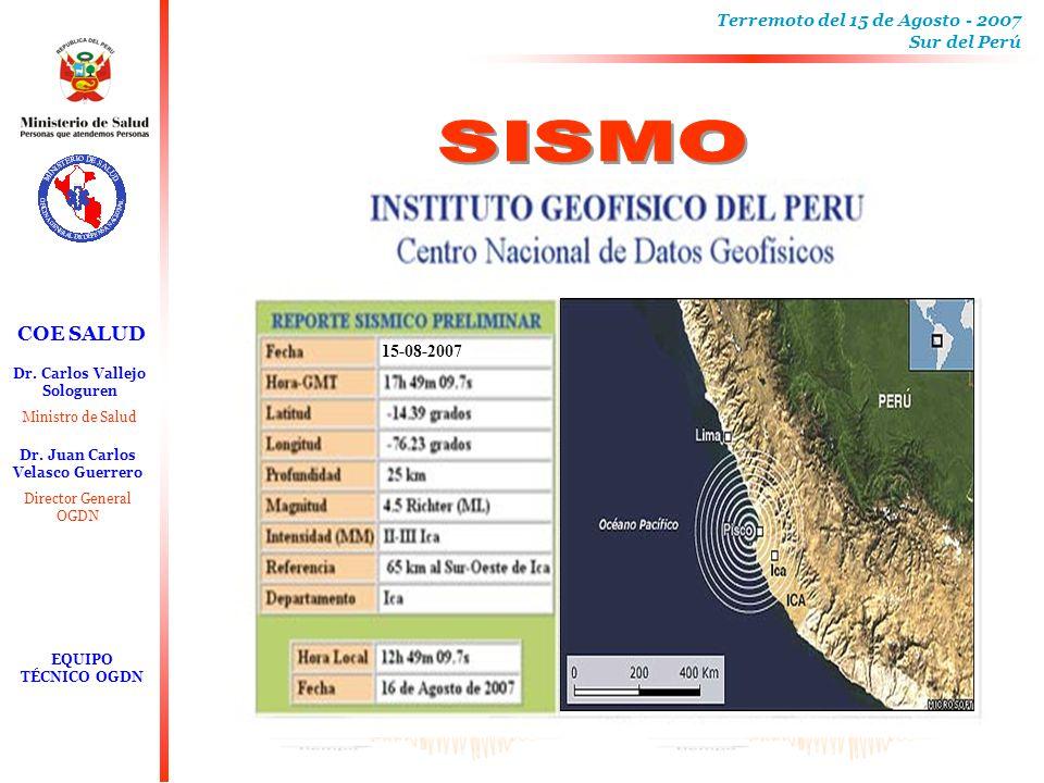 SISMO 15-08-2007