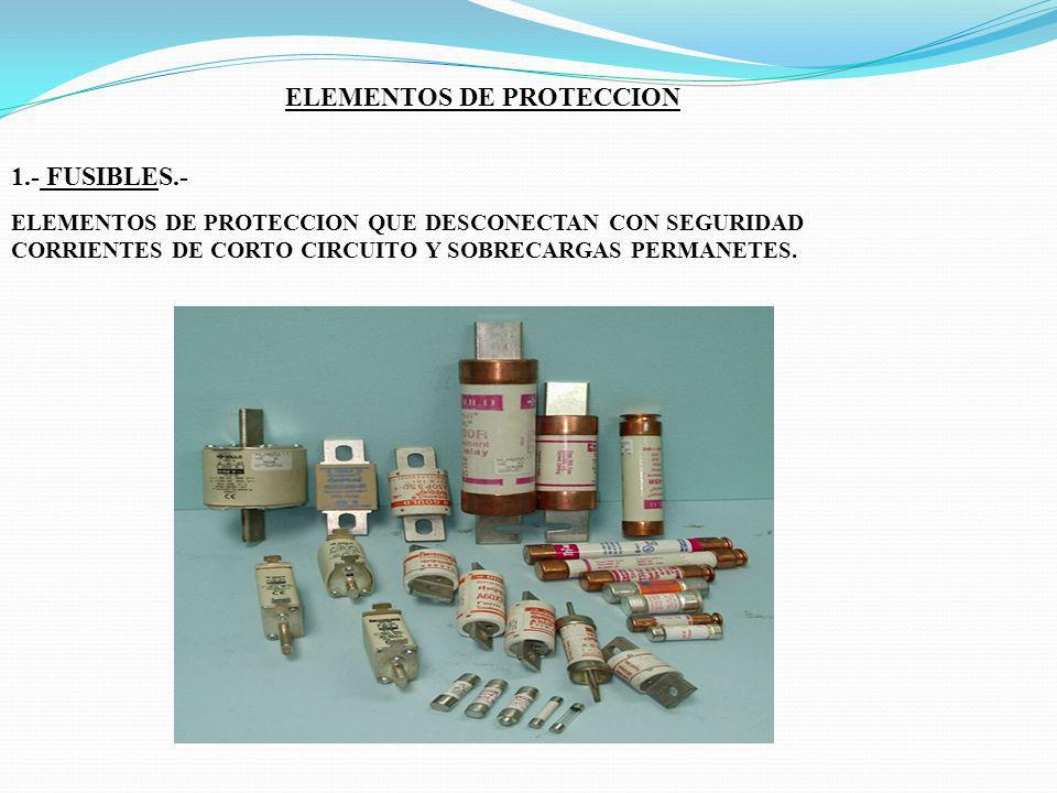 ELEMENTOS DE PROTECCION