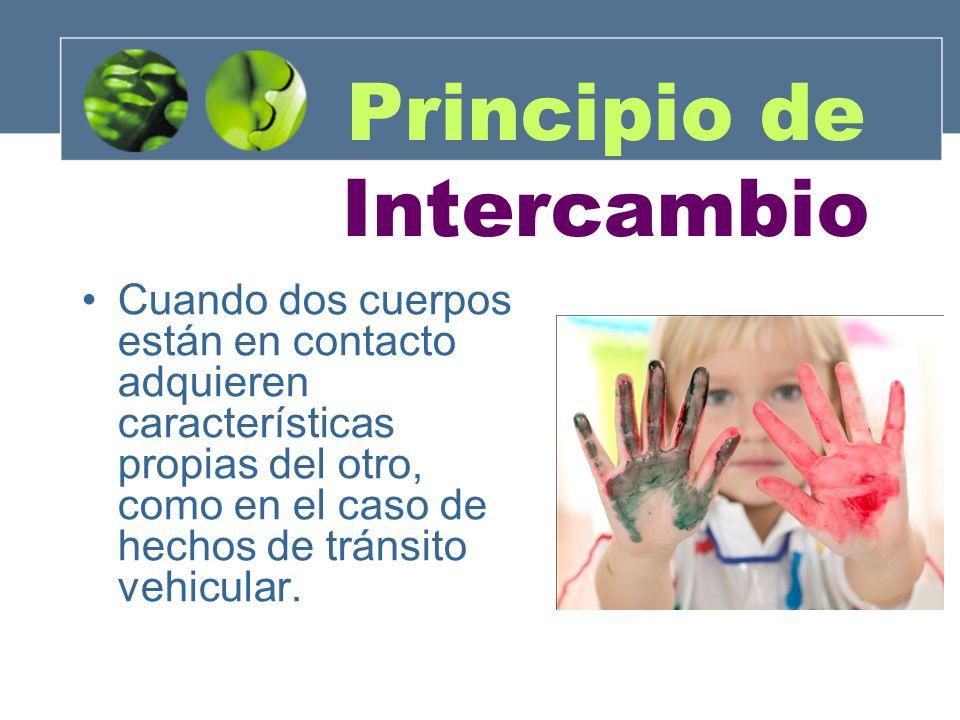 Principio de Intercambio