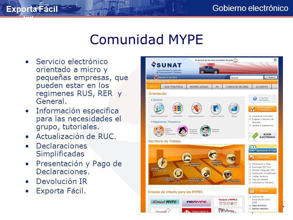 Comunidad MYPE Exporta Fácil