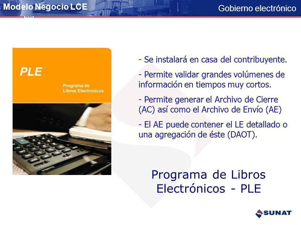 Programa de Libros Electrónicos - PLE