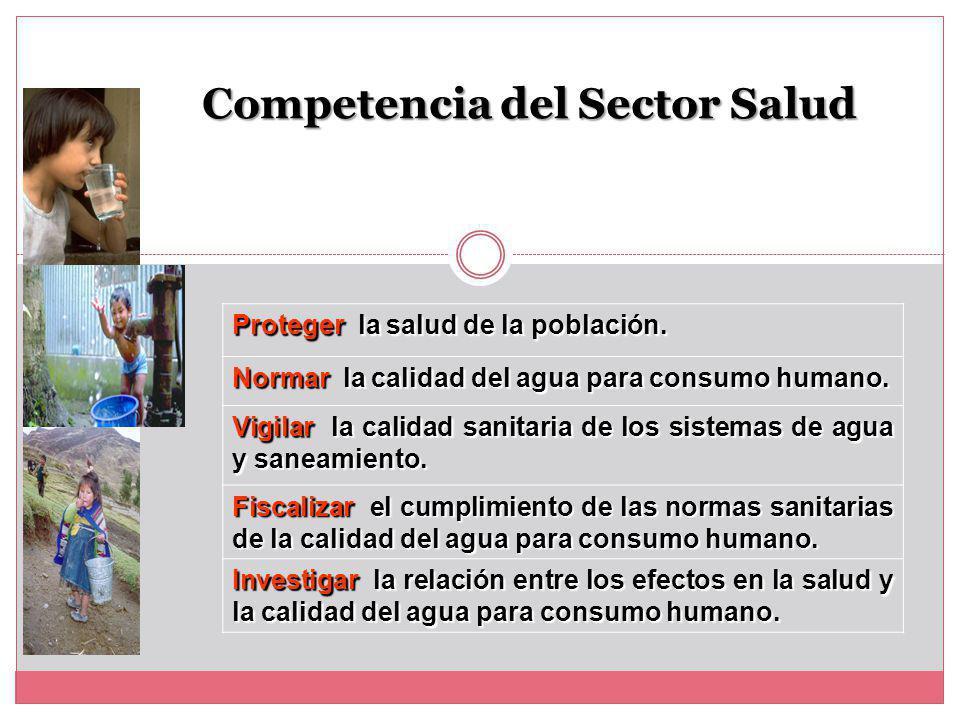 Competencia del Sector Salud