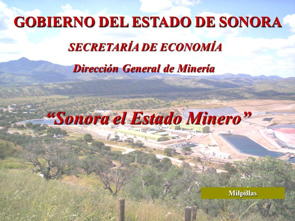 Sonora el Estado Minero