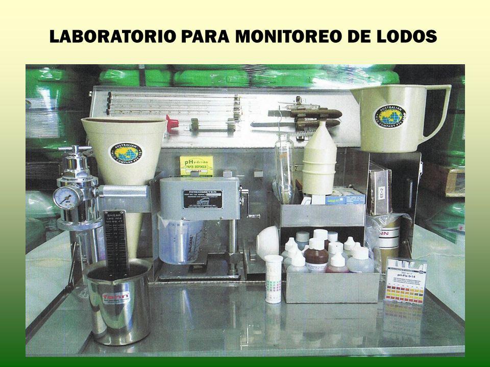 LABORATORIO PARA MONITOREO DE LODOS