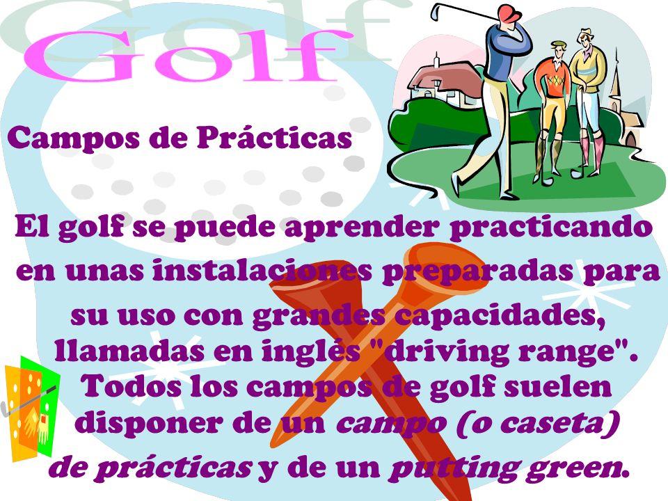 El golf se puede aprender practicando