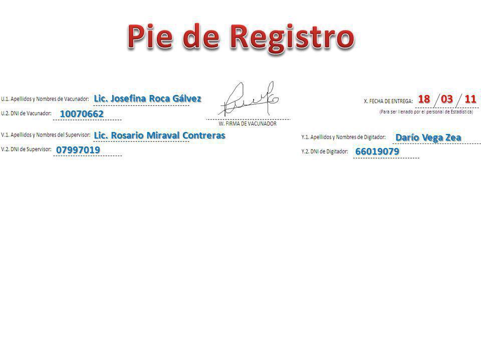 Pie de Registro 18 03 11 Lic. Josefina Roca Gálvez 10070662