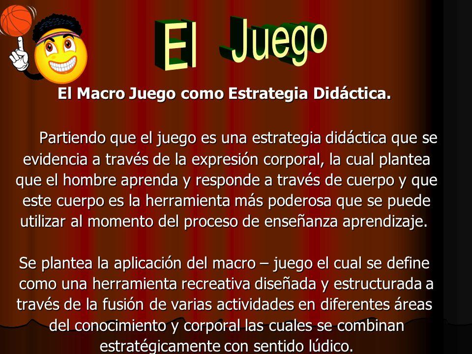 El Macro Juego como Estrategia Didáctica.