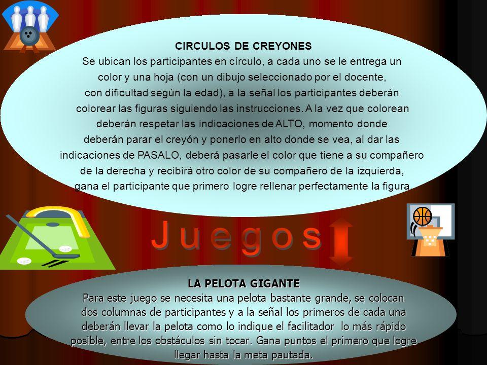 Juegos CIRCULOS DE CREYONES