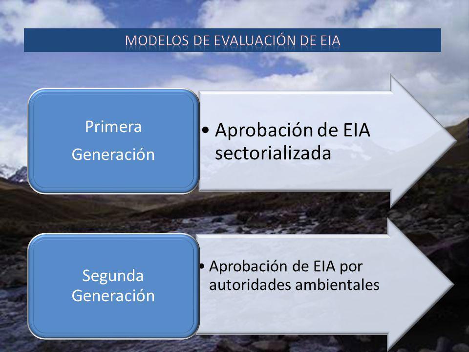 modelos de evaluación de eia