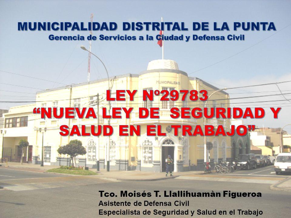 NUEVA LEY DE SEGURIDAD Y SALUD EN EL TRABAJO