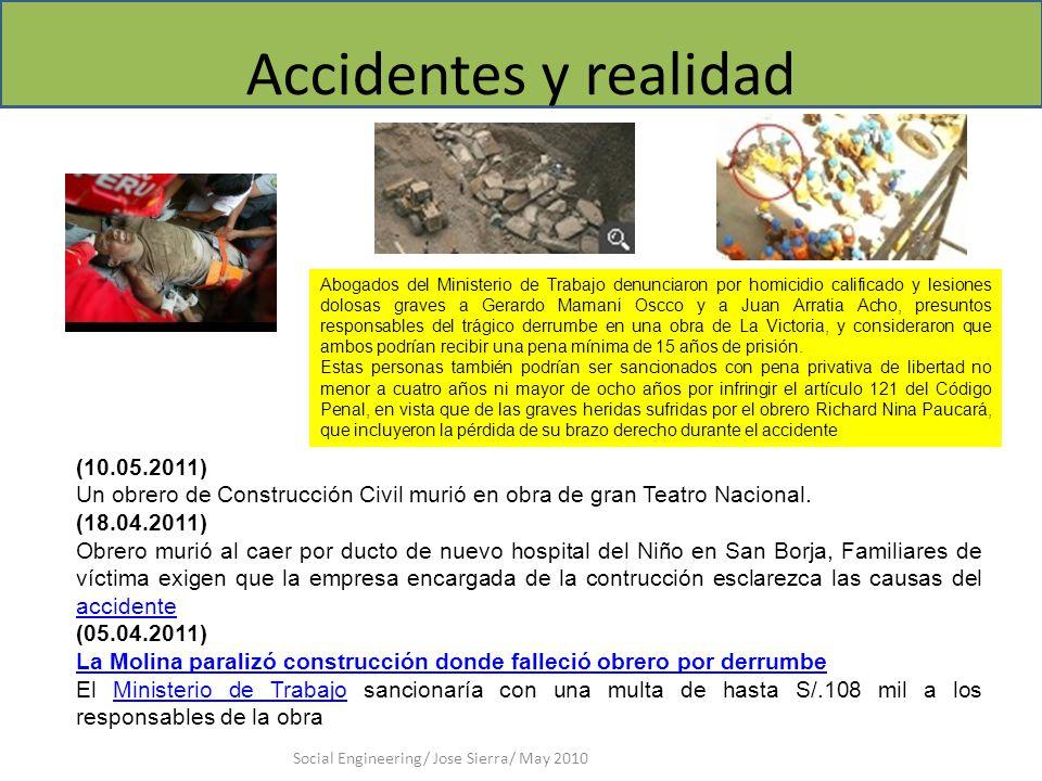 Accidentes y realidad (10.05.2011)