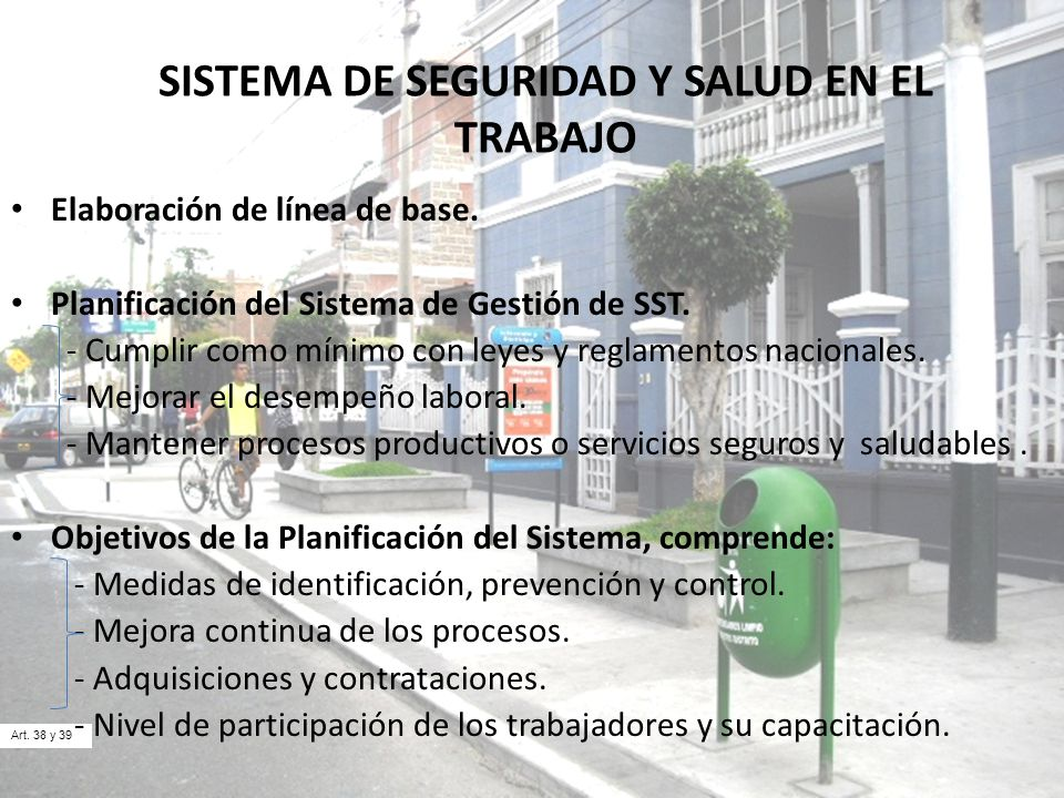 SISTEMA DE SEGURIDAD Y SALUD EN EL TRABAJO