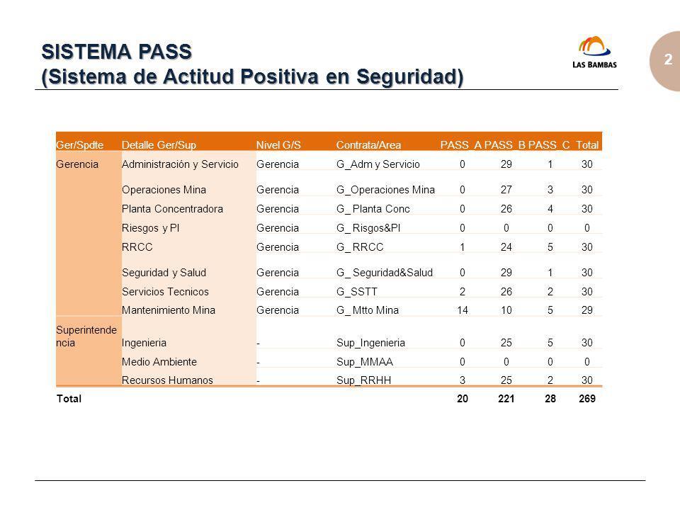 SISTEMA PASS (Sistema de Actitud Positiva en Seguridad)