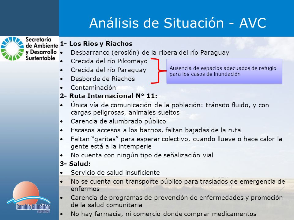 Análisis de Situación - AVC