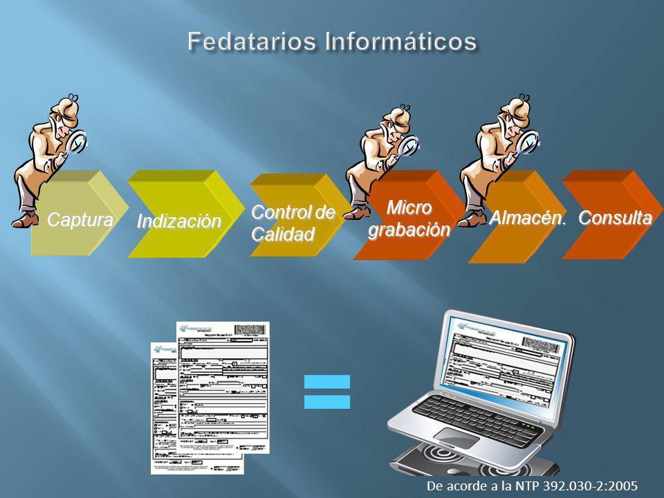 Fedatarios Informáticos