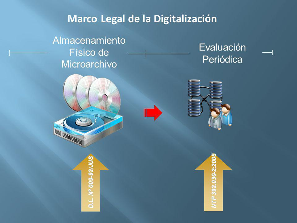 Marco Legal de la Digitalización