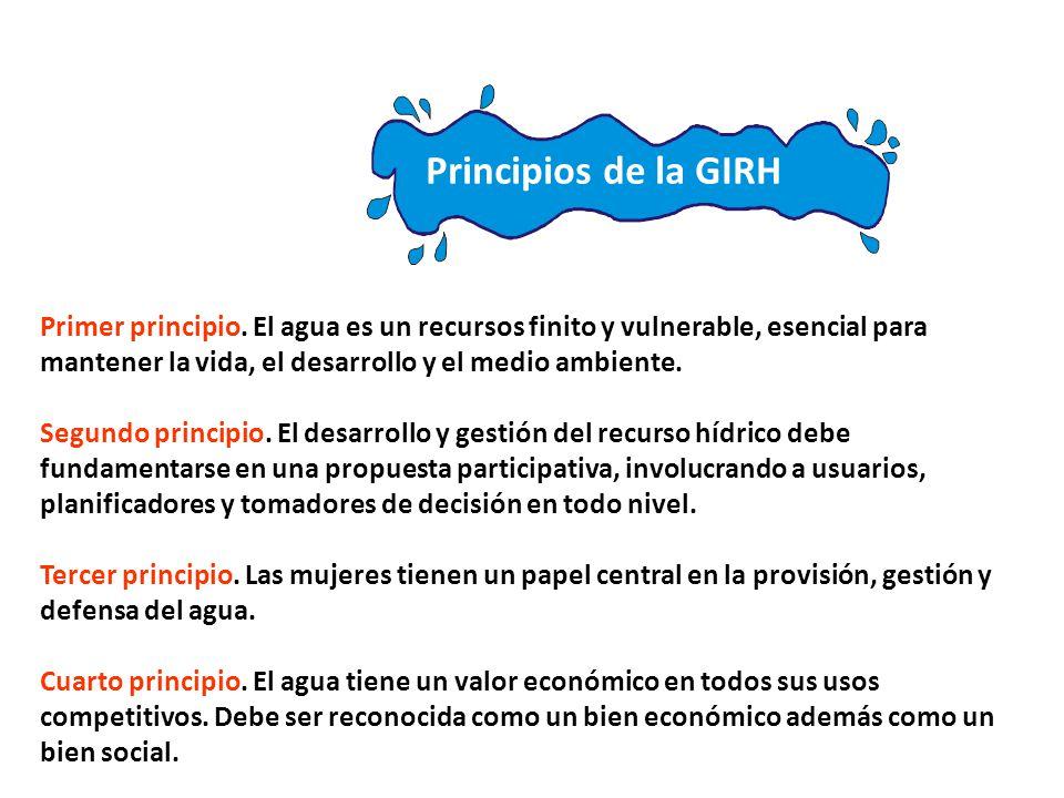 Principios de la GIRH