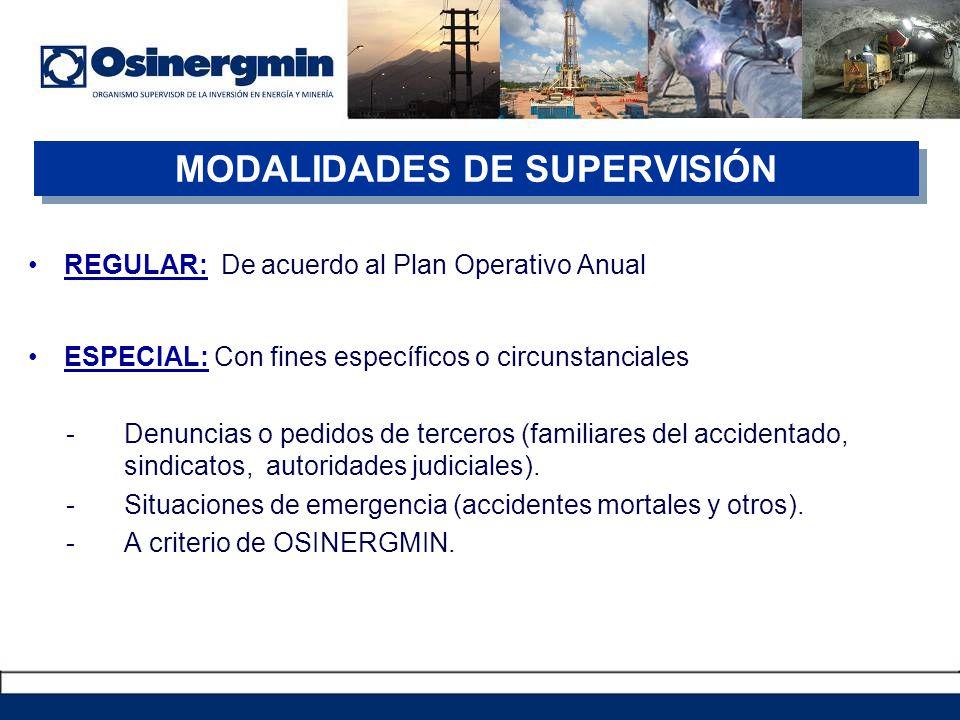 MODALIDADES DE SUPERVISIÓN