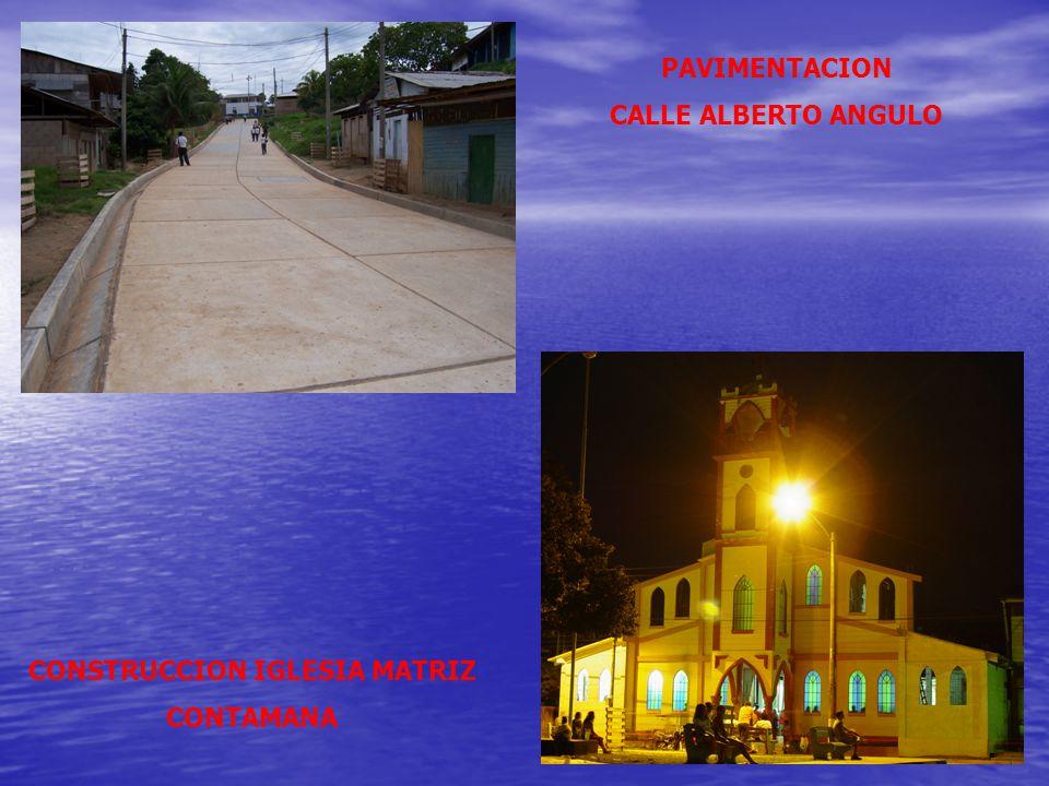 CONSTRUCCION IGLESIA MATRIZ