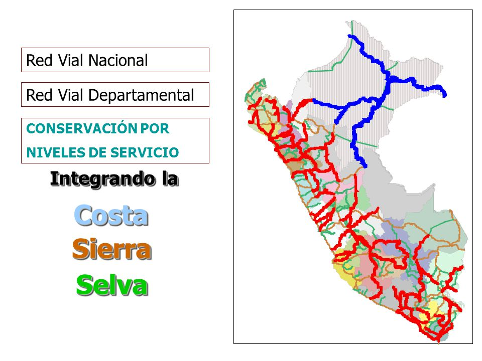 Costa Sierra Selva Integrando la Red Vial Nacional