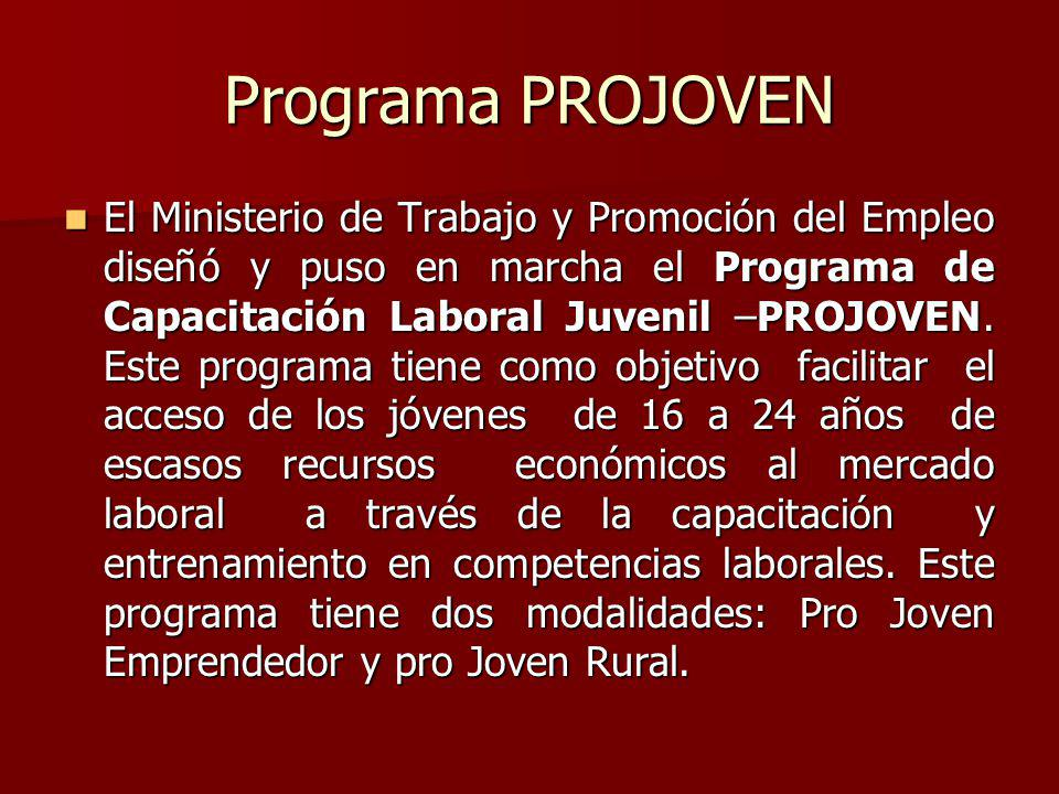 Programa PROJOVEN