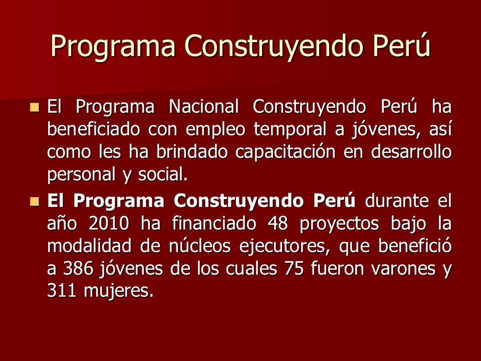 Programa Construyendo Perú