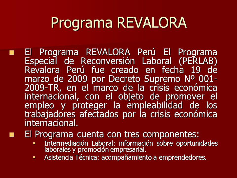 Programa REVALORA