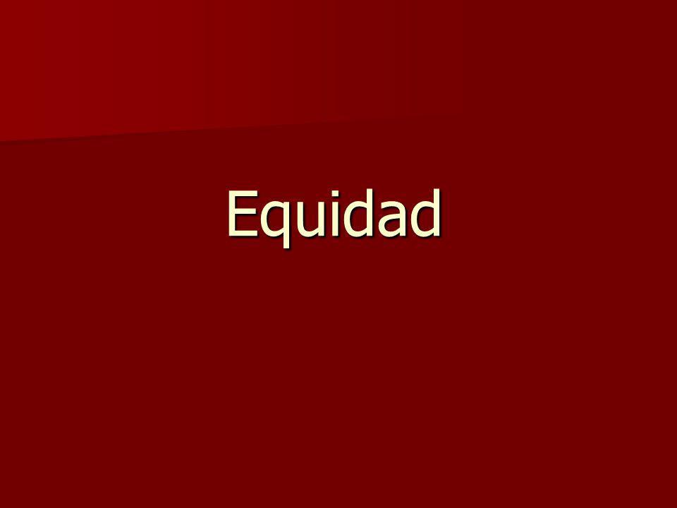 Equidad