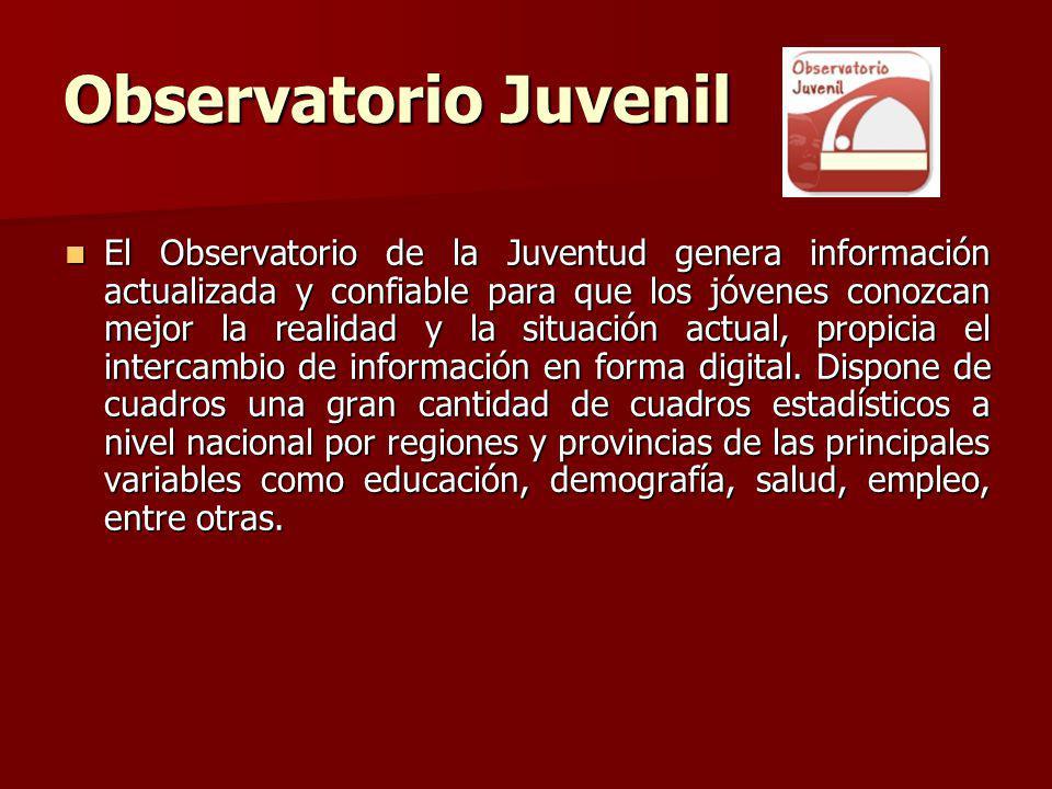 Observatorio Juvenil