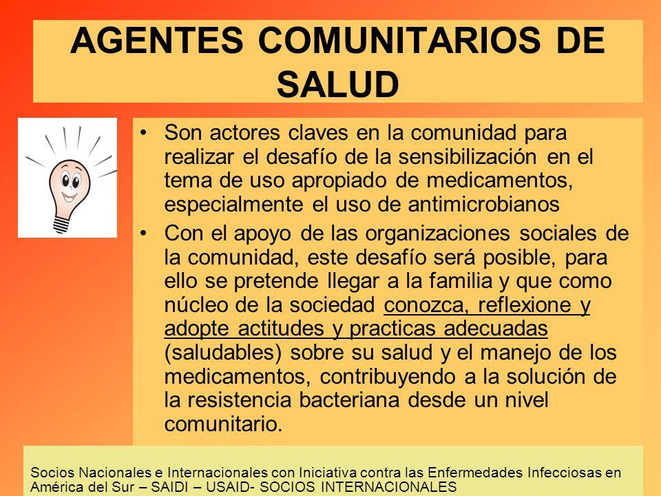 AGENTES COMUNITARIOS DE SALUD
