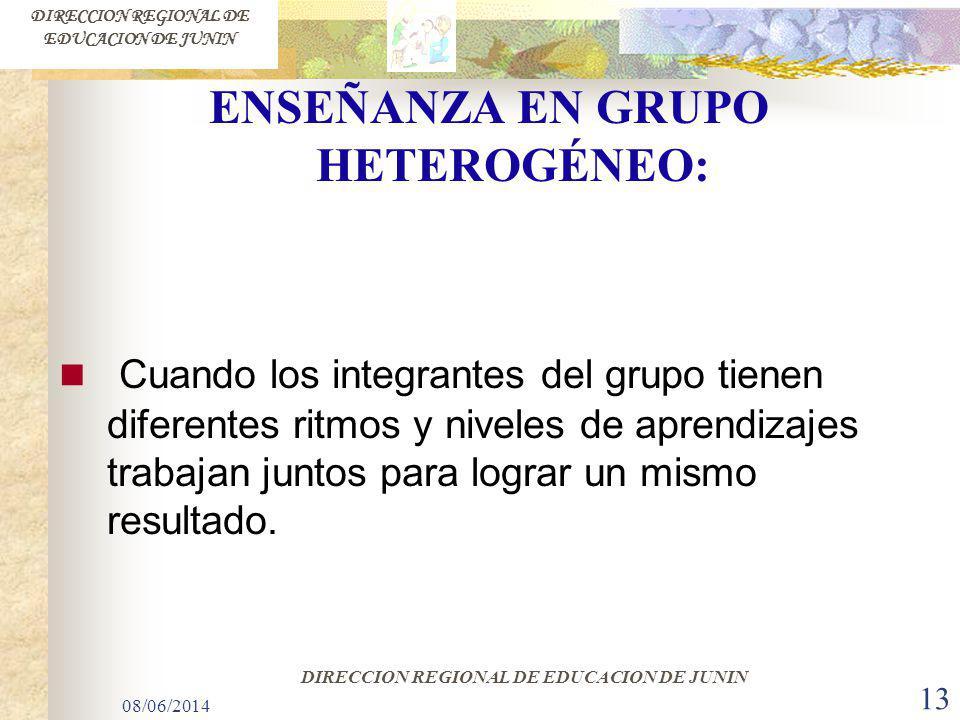 DIRECCION REGIONAL DE EDUCACION DE JUNIN